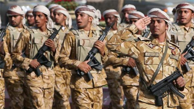 qatar troops