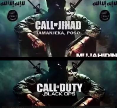 Call of Duty diedit menjadi Call of Jihad dalam propaganda ISIS di Posos