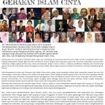SIARAN PERS--Gerakan Islam Cinta 2016