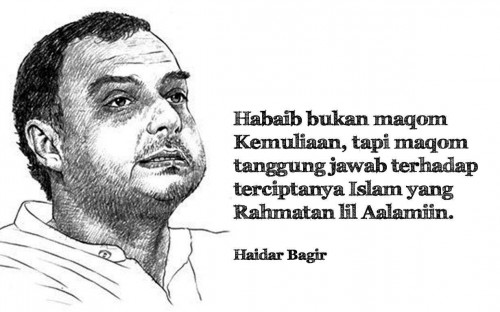 Menyoal Makna Habib