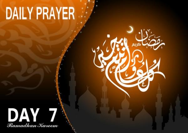 doa hari 7 bulan ramadhan