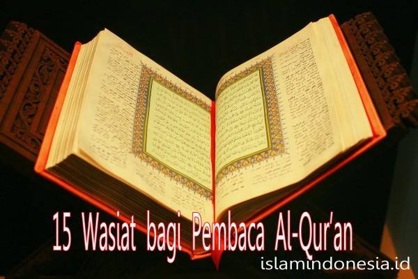 15-wasiat-bagi-pembaca-alqur'an
