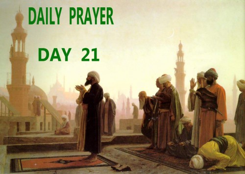 doa hari 21 bulan ramadhan