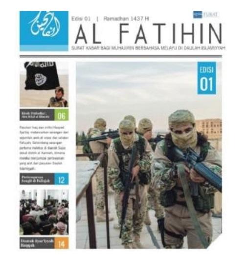 Al Fatihin Terbit Propaganda dan Psywar ISIS di Asia Tenggara Berlanjut