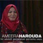 Ameera Harouda Wanita Islam Berjilbab di Gaza