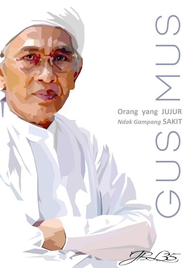 Gus Mus Orang Jujur Ndak Gampang Sakit