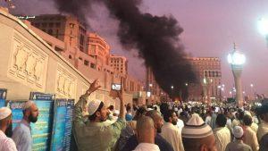 Ledakan di Dekat Mesjid Nabawi