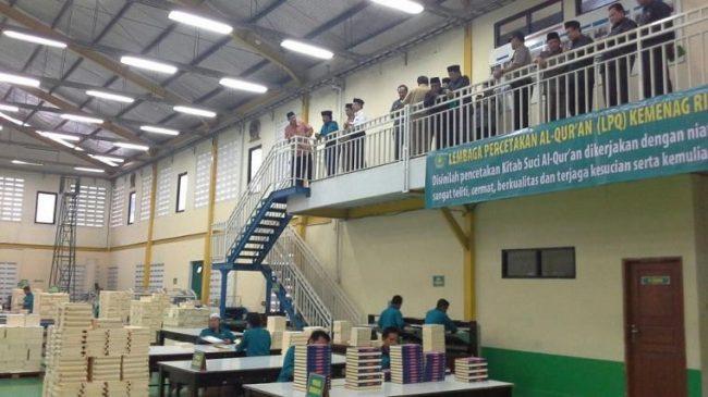 Kenapa Lembaga Percetakan Al-Qur'an Bisa Mati Suri
