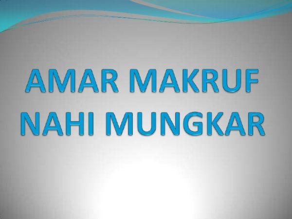amar makruf