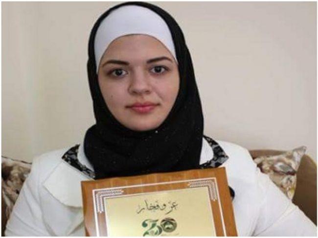 Inilah Gadis Belia Palestina Tercerdas Sejazirah Arab Abad Ini
