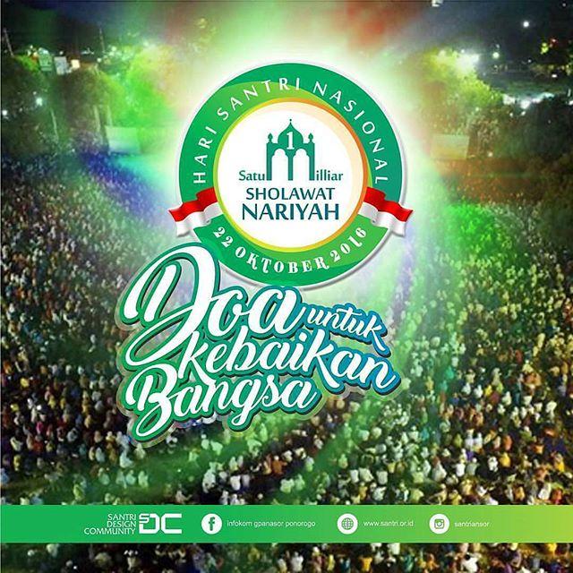 sambut-hari-santri-nasional-warga-nu-baca-1-miliar-shalawat-nariyah