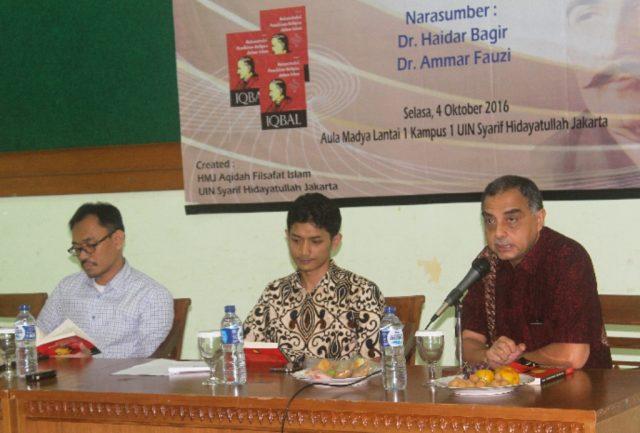 haidar bagir, ammar fauzi, muhammad iqbal, rekonstruksi pemikiran dalam islam, bedah buku, islam indonesia
