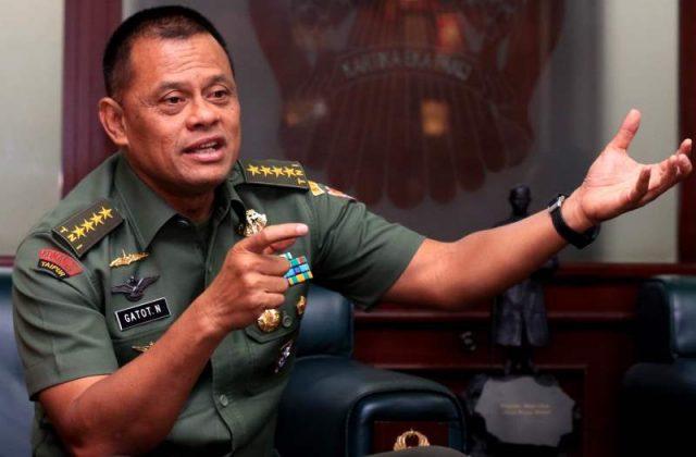 Profil Kepala Staf Angkatan Darat (KASAD) Gatot Nurmantyo. KORAN SINDO/Yudistiro Pranoto