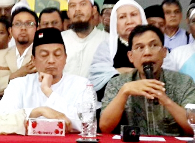 Fokus Sidang Ahok, Polisi Tunda Periksa Bachtiar Nasir dan Munarman Terkait Kasus Makar