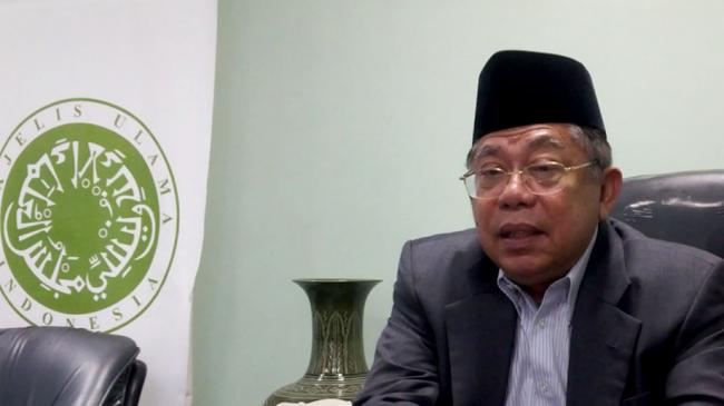 KH Ma'ruf Amin Demi Satukan Umat Islam, MUI Dipukuli Kita Bilang Alhamdulillah Saja