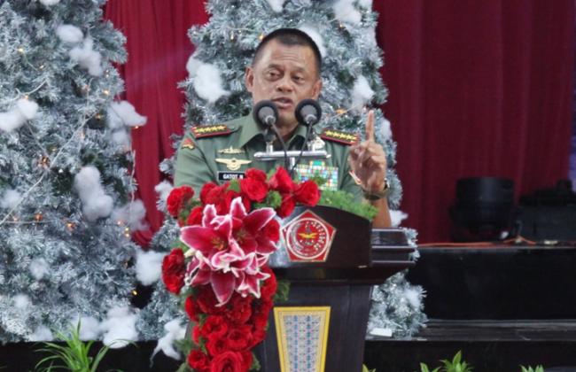 Panglima TNI Ajak Umat Beragama Saling Bersaing Sebarkan Cinta Kasih