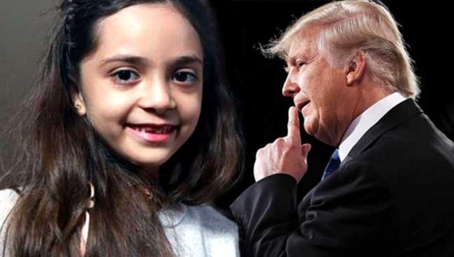 Surat Terbuka Gadis Cilik Suriah untuk Donald Trump