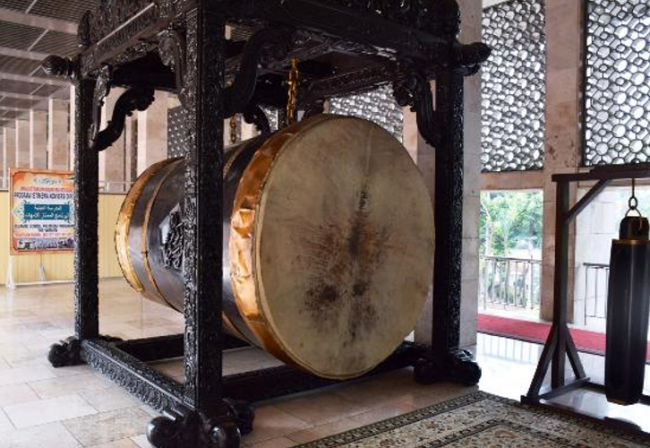 Anggap Bid'ah, Raja Salman Tolak Seremonial Pukul Bedug di Istiqlal