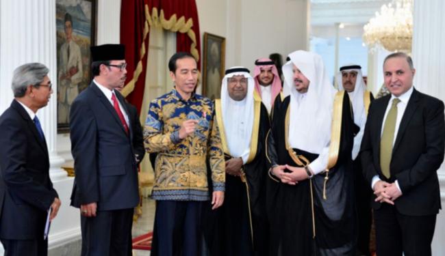 Berikut Susunan Acara Temu Bilateral Raja Salman di Istana Bogor