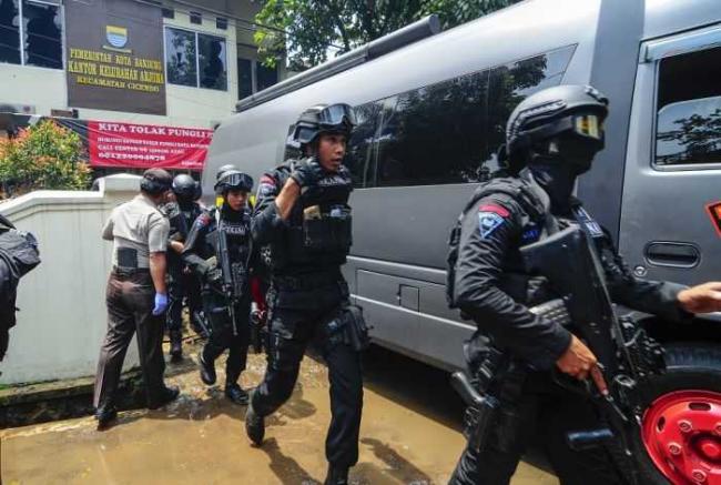 Kronologi Teror Bom Cicendo Bandung