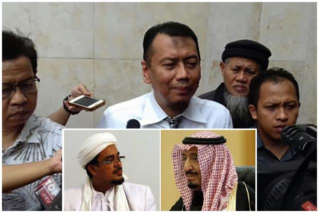 Kuasa Hukum Habib Rizieq Raja Salman Nyatakan Ingin Bertemu Empat Mata