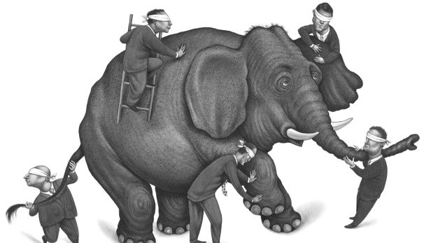 persepsi gajah