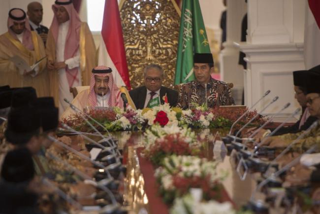 Apa Saja Isi Pertemuan para Ulama dengan Raja Salman di Istana