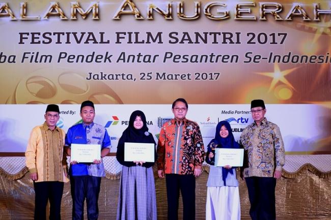 Berikut para Pemenang Festival Film Santri 2017 yang Digelar MUI