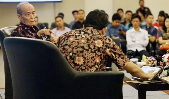Buya Syafii Maarif Sedih, Pilkada Jakarta Habiskan Energi Bangsa
