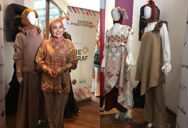 Desainer Hijab Ria Miranda, Siap Wakili Indonesia di Kancah Dunia