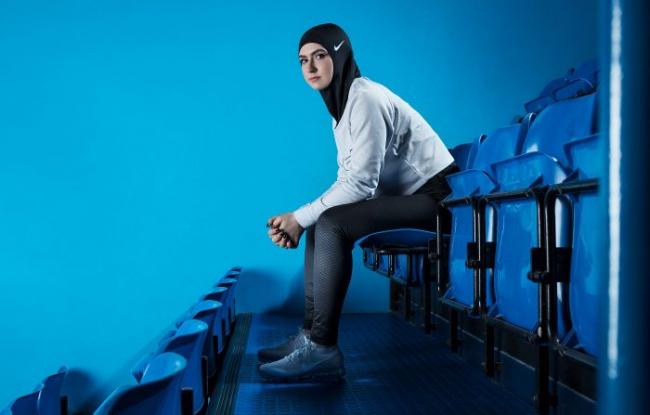 Hijab Khusus Atlet Muslimah Produksi Nike, Seperti Apa
