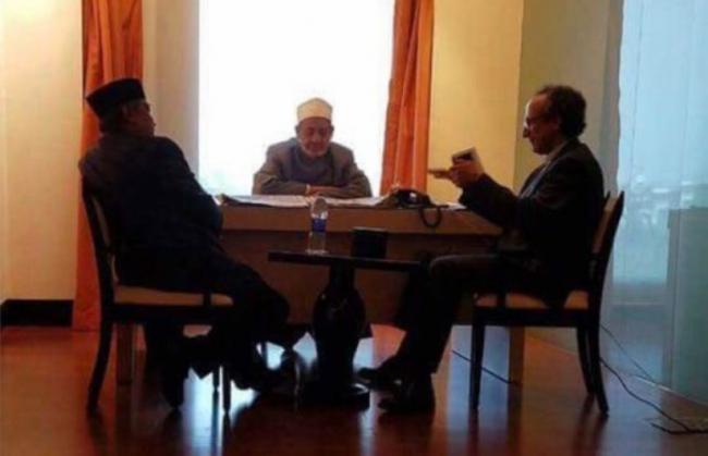 Kiai Said Titip Mahasiswa Indonesia di Al-Azhar kepada Grand Syekh Ahmad Thayyeb