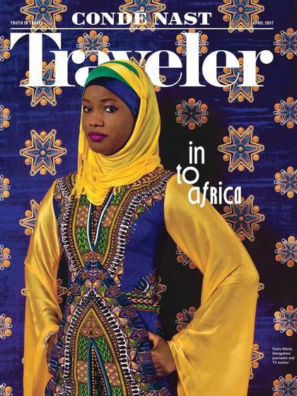 Oumy Noor, Hijabers Afrika Pertama yang Eksis di Majalah Travel Amerika