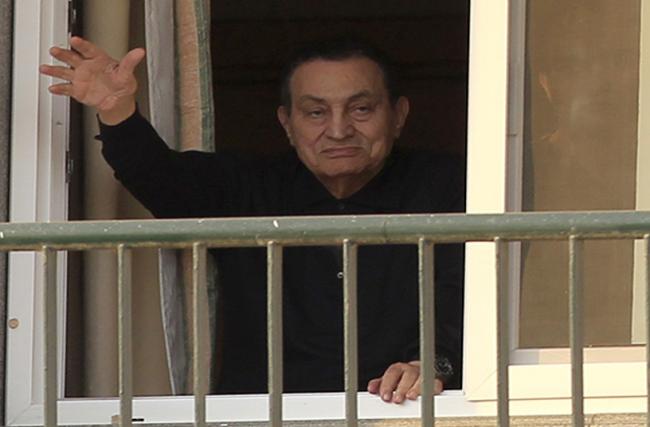 Pasca Enam Tahun Ditahan, Mantan Penguasa Mesir Hosni Mubarak Hirup Udara Bebas