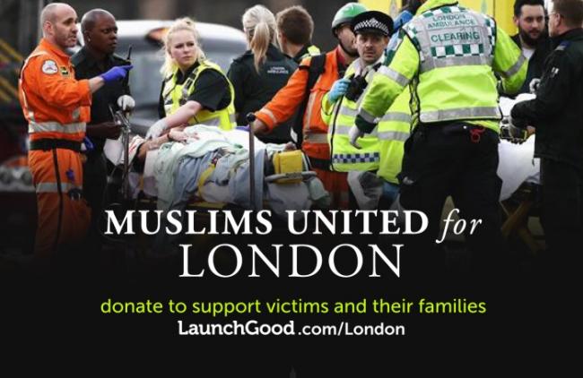 Peduli Korban Teror London, Muslim Inggris Galang Donasi Online