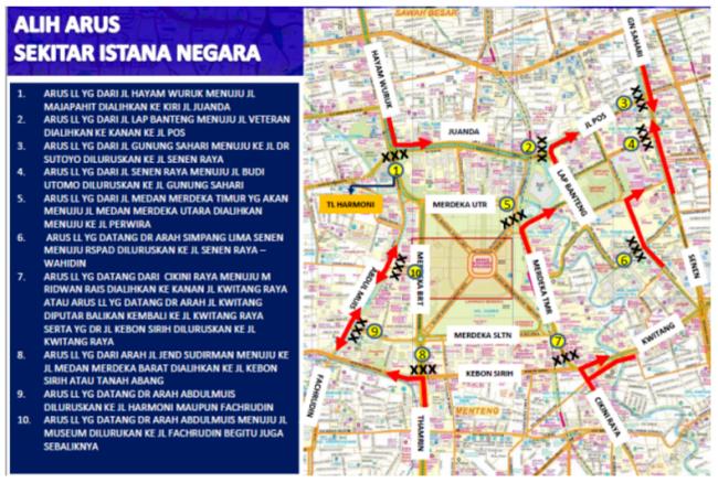 Polda Metro Jaya Siapkan Rekayasa Lalulintas Saat Aksi 313