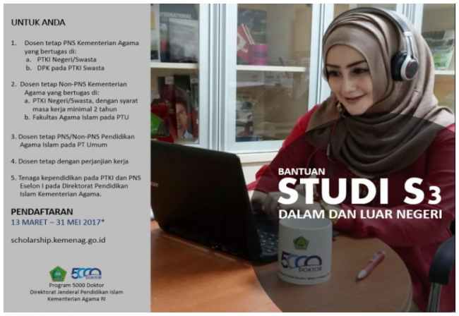 Promosi Islam Indonesia Lewat Program Beasiswa 5000 Doktor