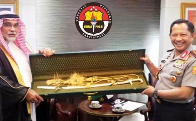 Soal Hadiah Pedang Emas dari Raja Salman, Begini Kata Kapolri