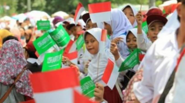 Tak Kalah Heboh Media Arab Beritakan Kunjungan Raja Salman