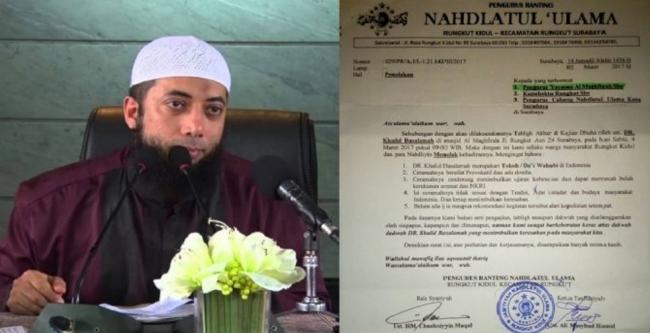 Terungkap, 4 Alasan Ustadz Khalid Basalamah Diturunkan Paksa dari Mimbar