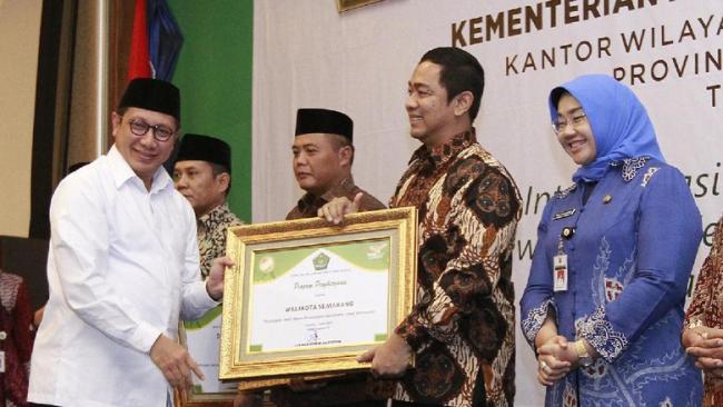 Kemenag Wali Kota Semarang, Teladan Bina Kerukunan Beragama