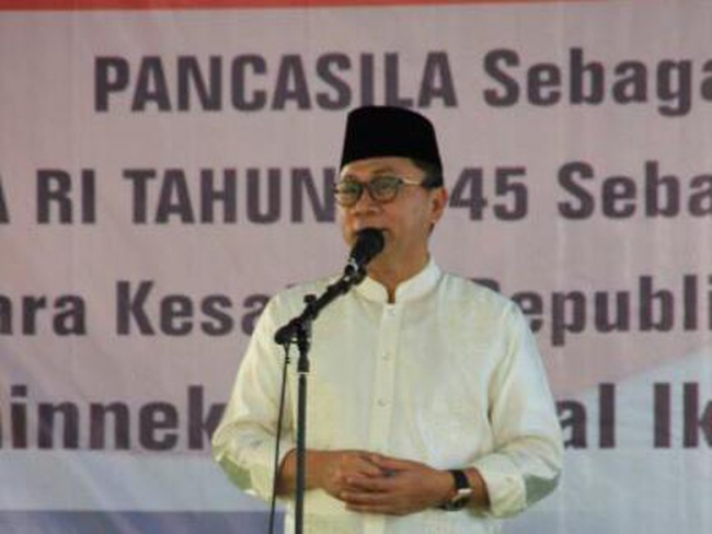 Ketua MPR AjakPemerintah Lebih Perhatikan Pesantren