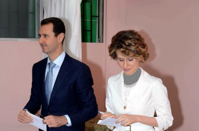 Negaranya Diserang, Begini Reaksi Ibu Negara Suriah Asma al-Assad