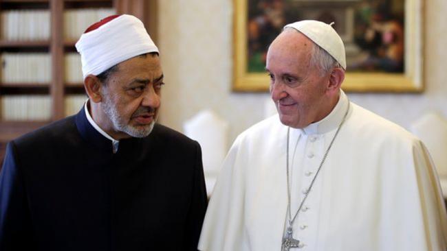 Pasca Kunjungi Al-Azhar, Berikut Pesan Paus kepada Umat Kristiani Mesir
