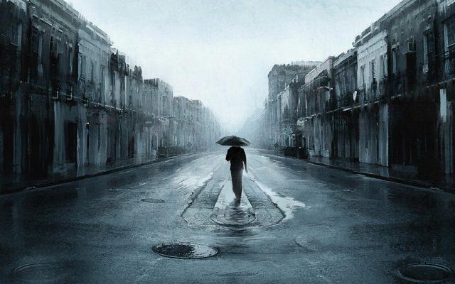 lonely sendirian