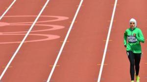 Atlet Lari Arab Saudi Sarah Attar