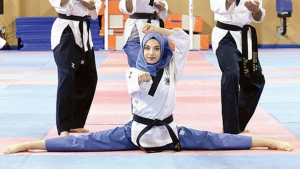Atlet Taekwondo Turki, Kubra Dagli