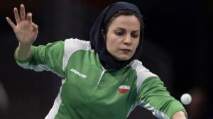 Atlet Tenis Meja Iran Neda Shahsavari