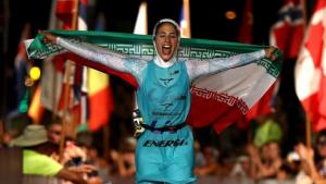 Atlet Triathlon Iran Shirin Gerami