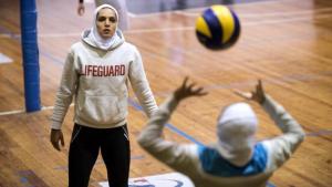 Atlet Voli Putri Iran Maedeh Borhani
